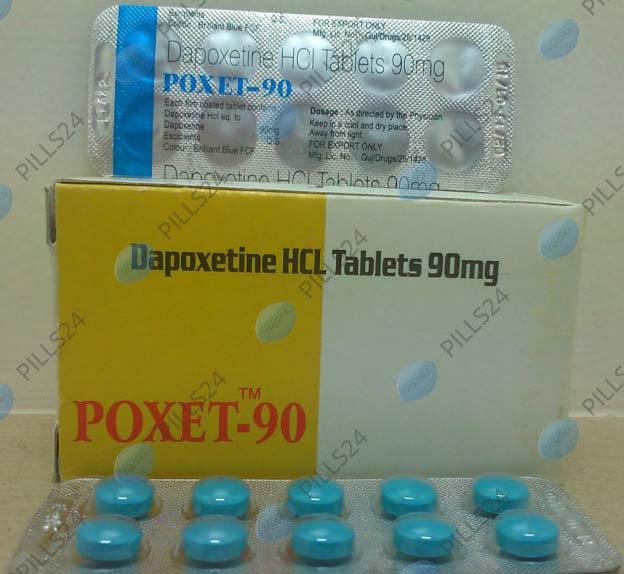 Купить Дапоксетин 90 мг