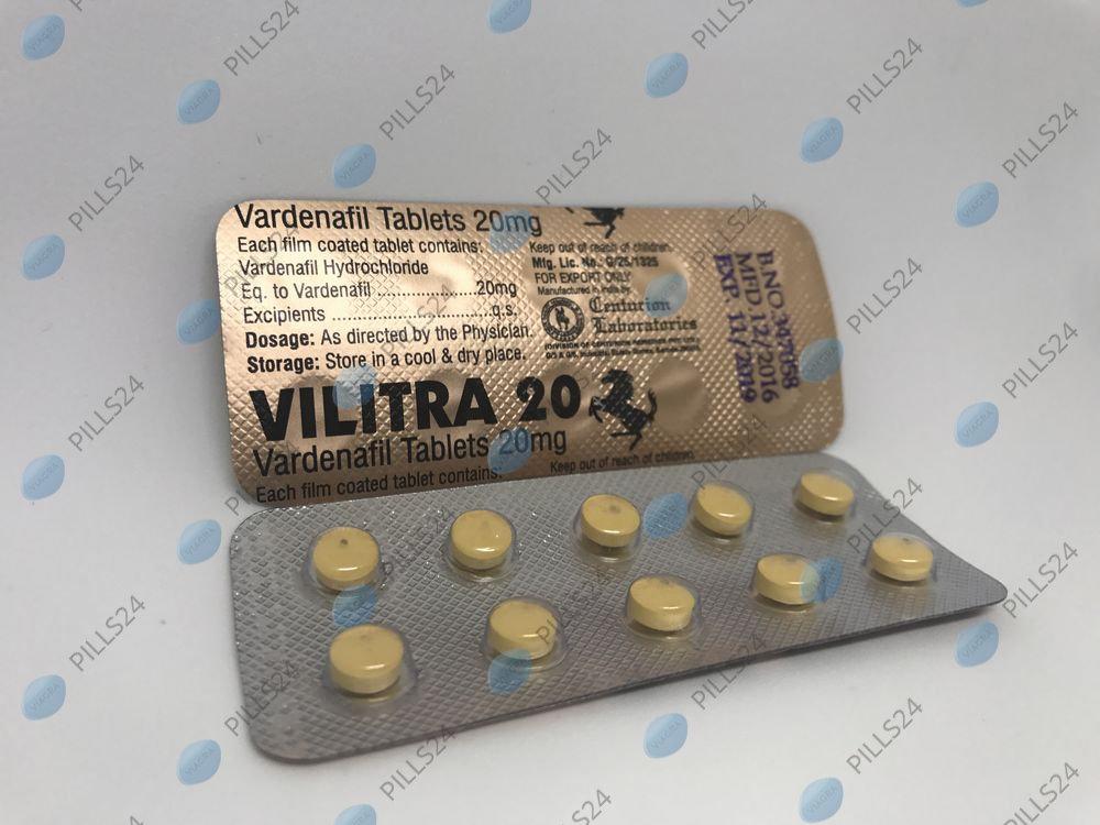 Купить Левитра 20 мг